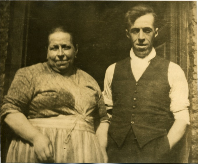 William Berry with mother