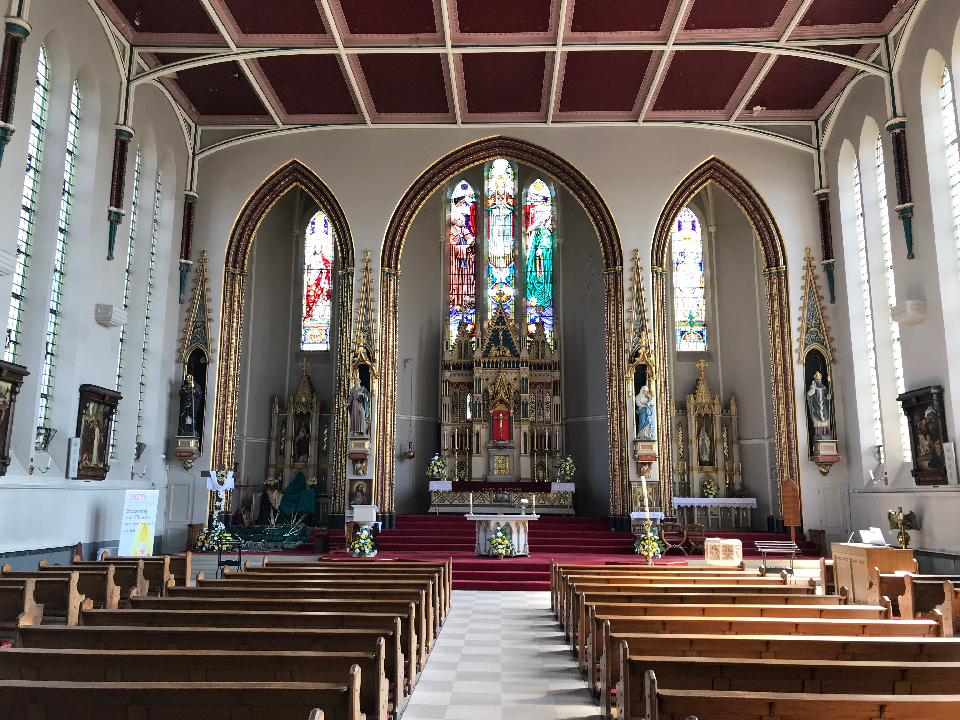 Inside St. Anthony's RC Church, Liverpool