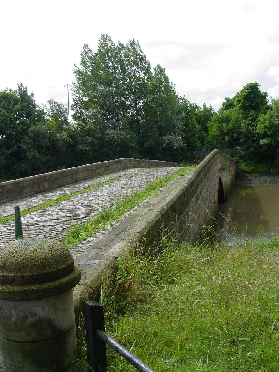 Old bridge over the Don at Jarrow