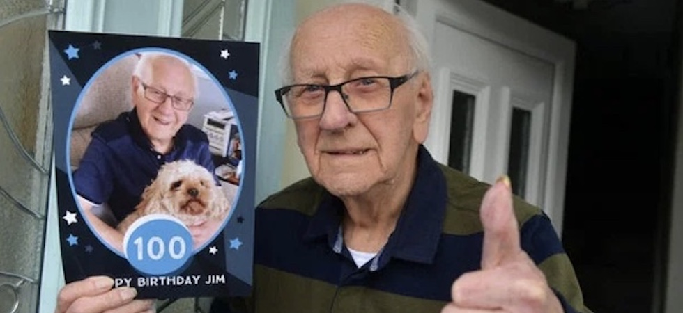 Jim Otterson, age 100