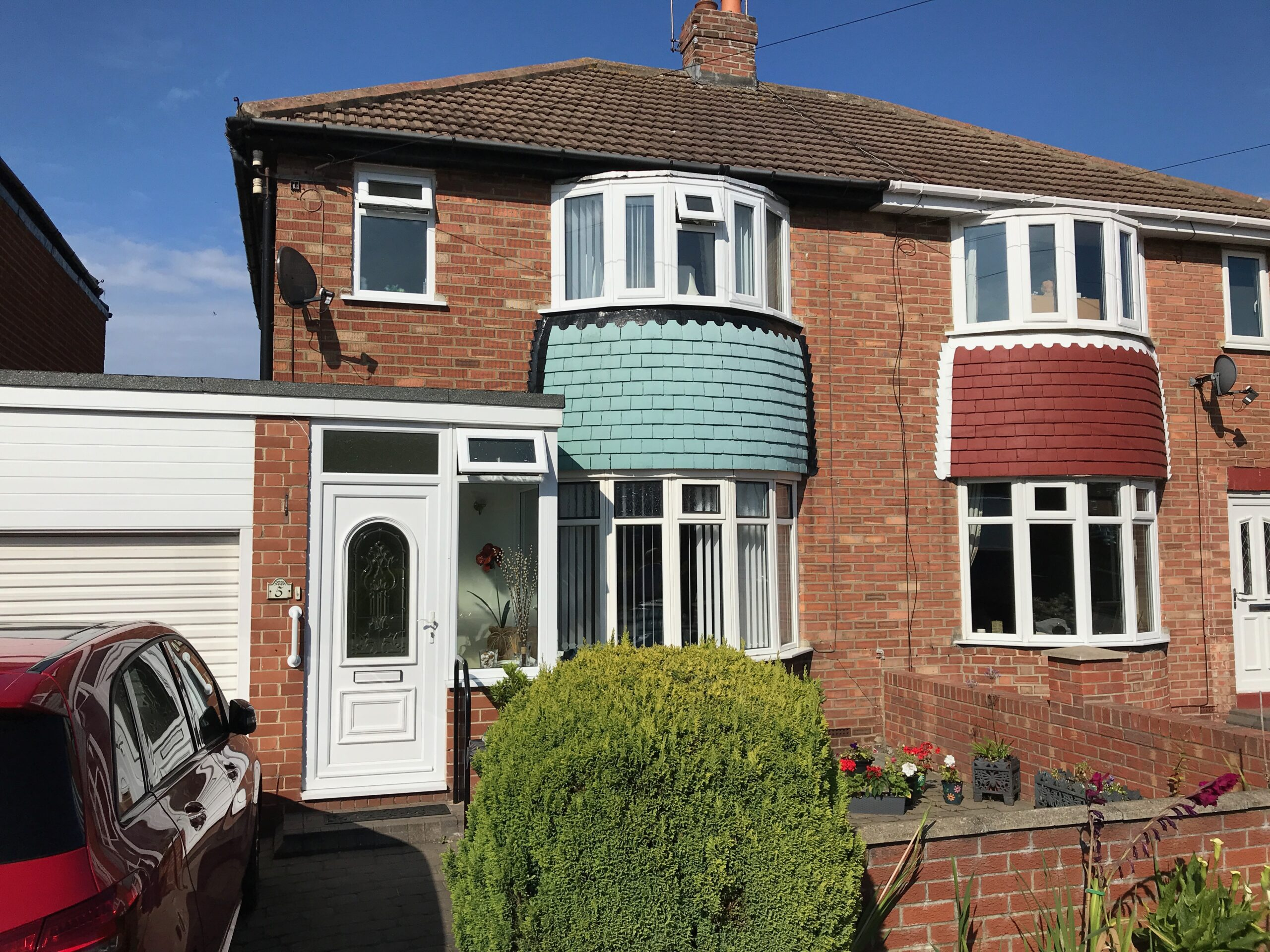 Home of Jim and Dorothy Otterson, Fulwell, Sunderland