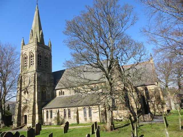 St Augustine church, Alston, Cumbria
