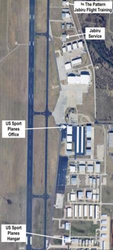 US Sport Planes Expansion Map