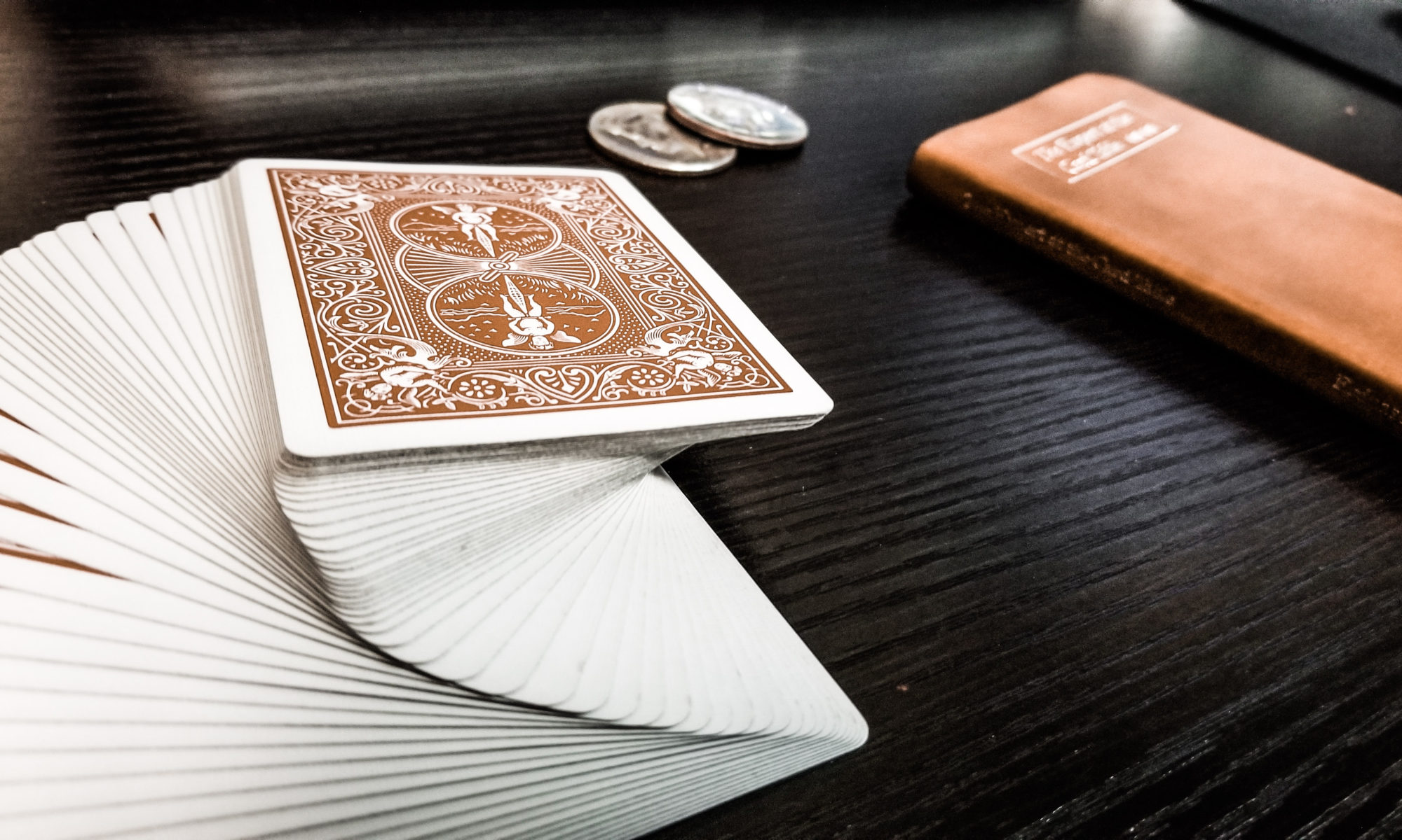 Sleightly Ambitious Cards & Coins