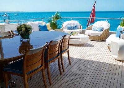Stern Deck Table