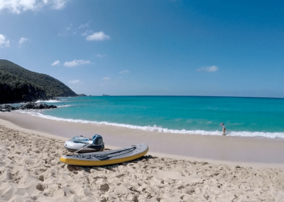 Paddle Board on Beach