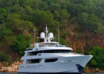 Trending Yacht at Rest