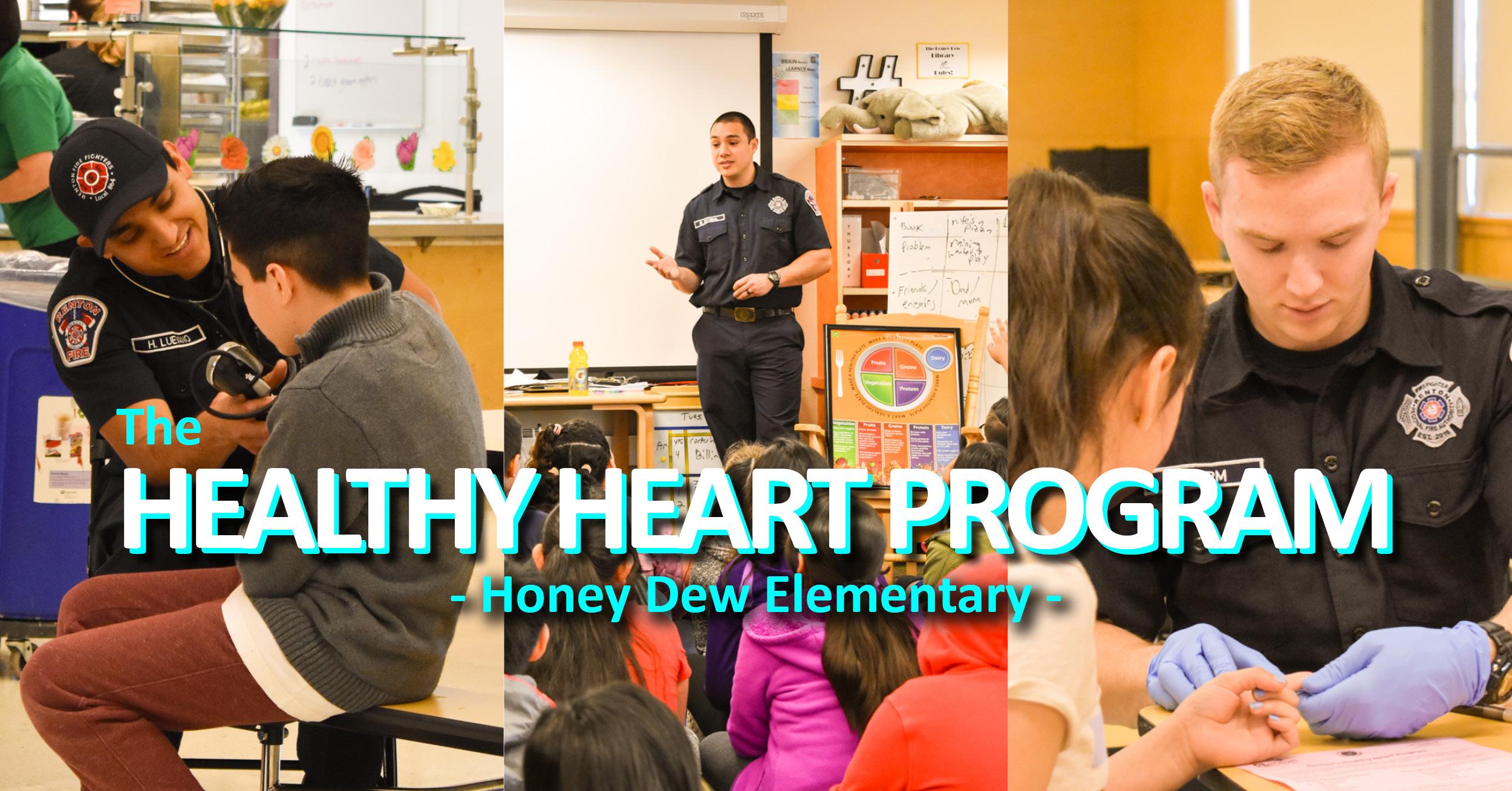 Healthy Heart Program Visits Honey Dew Elementary