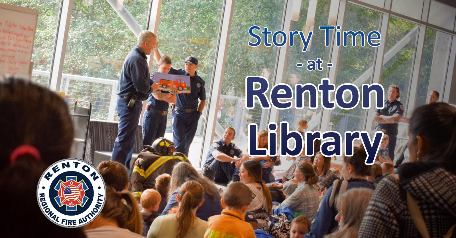Renton RFA Story Time at Renton Library