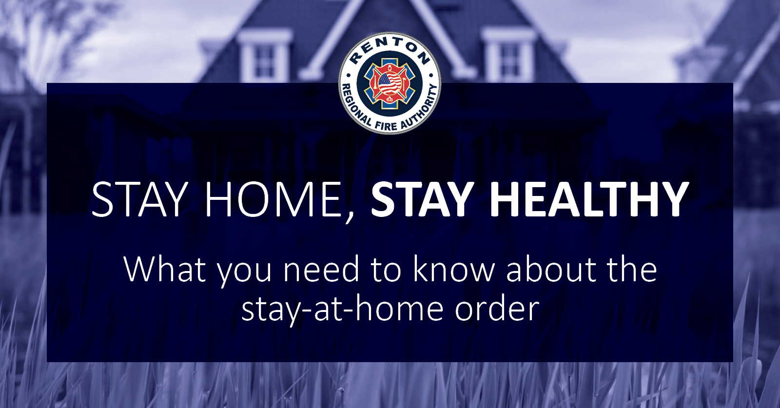 Stay Home, Stay Healthy Order