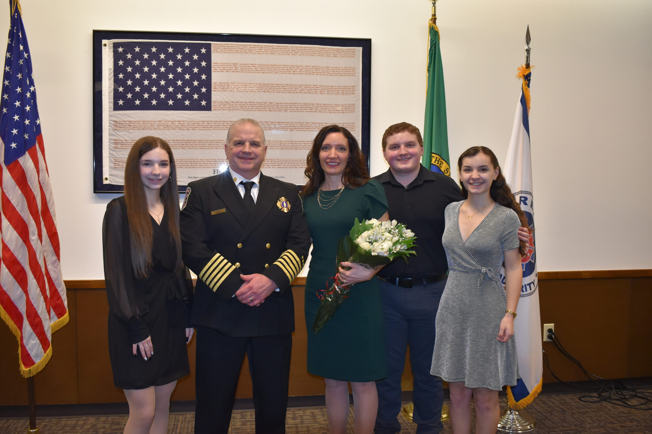 Welcome Fire Chief Steve Heitman