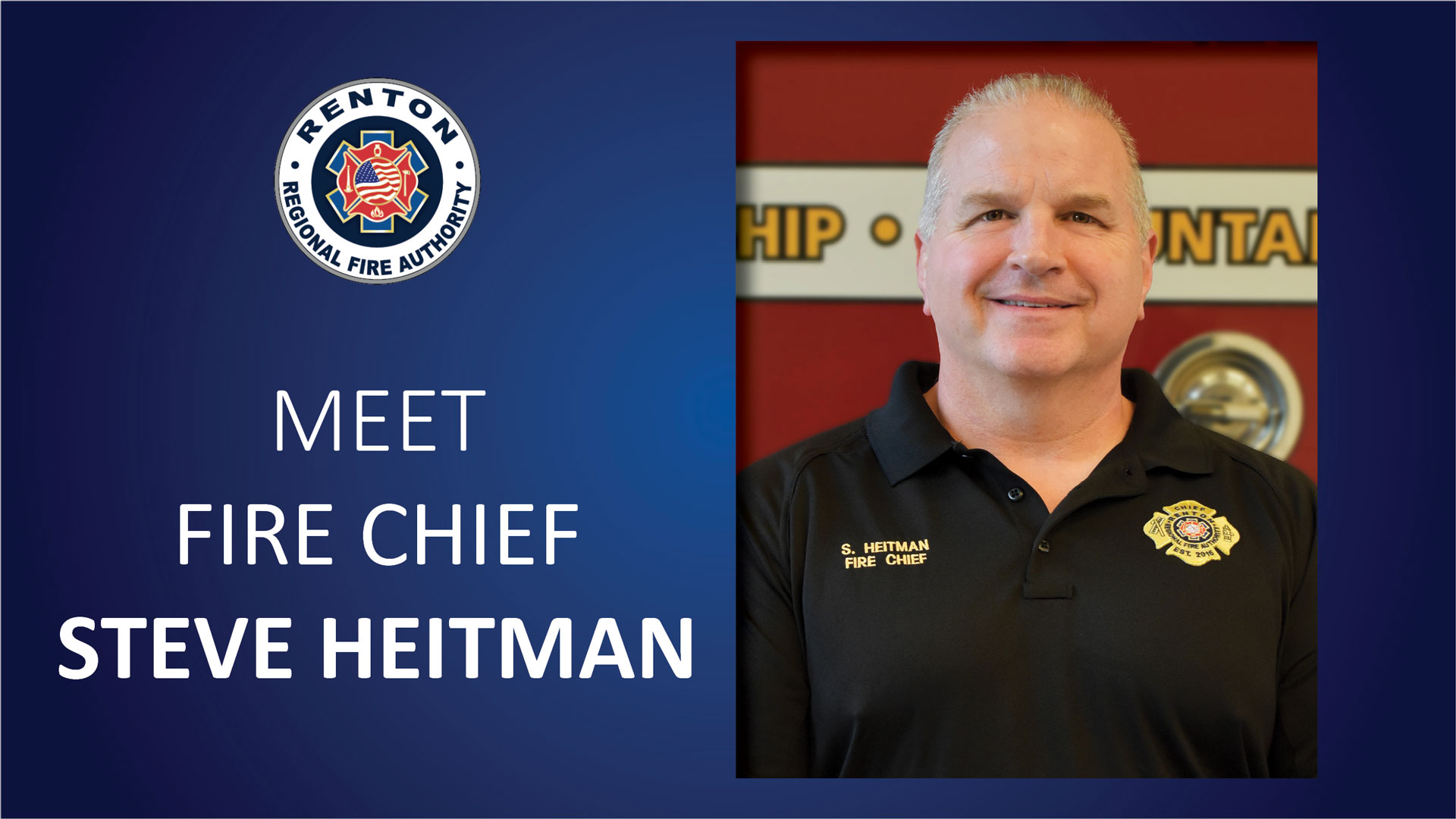 Meet Fire Chief Steve Heitman