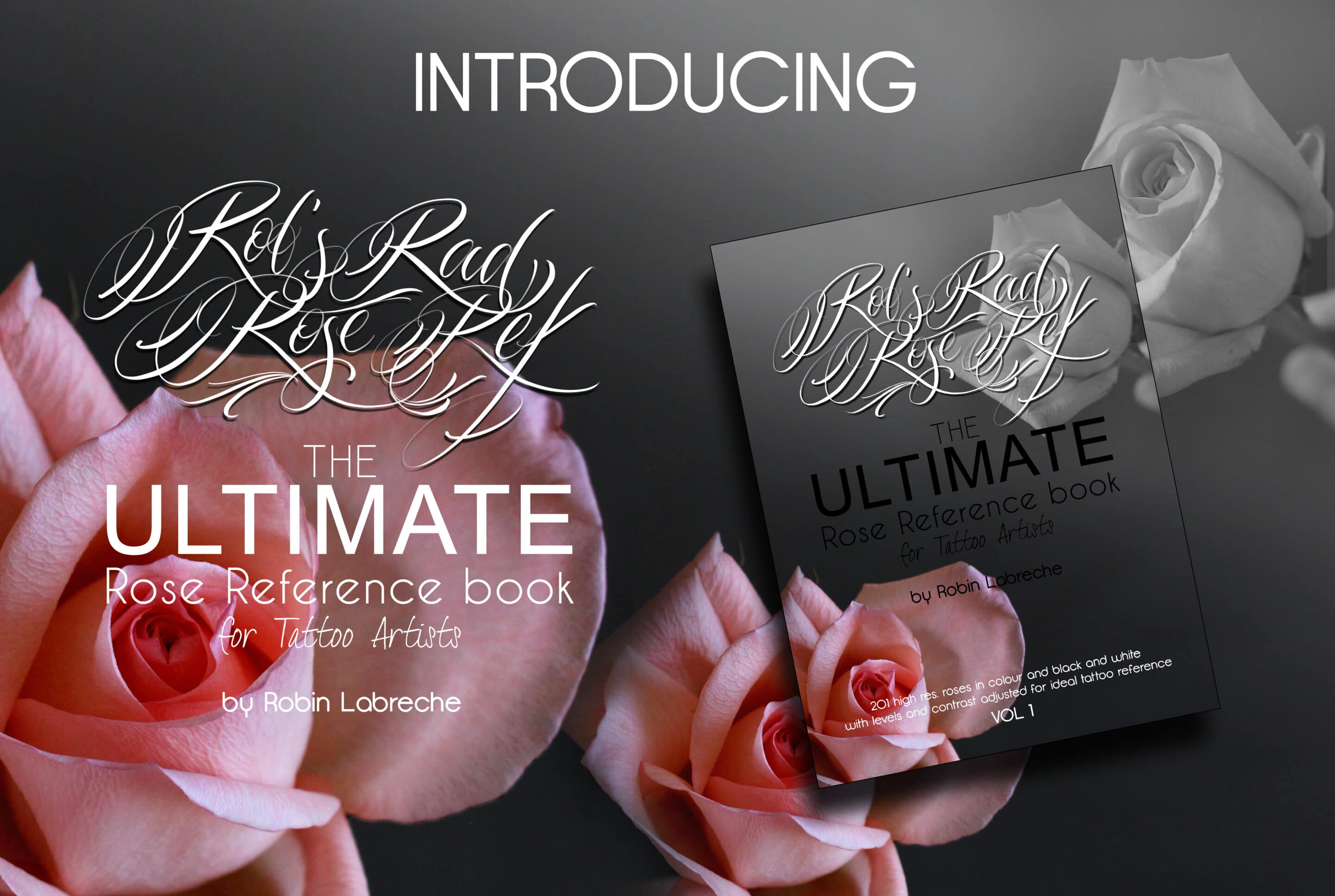 The ultimate rose reference book for artists.