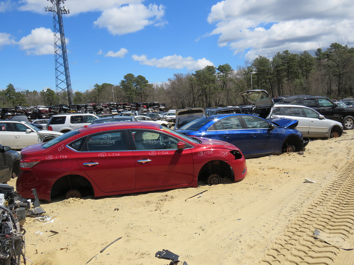 Three Types Of Recycling At Robertson's Auto Salvage