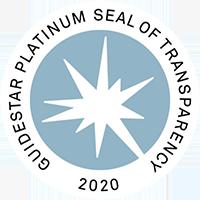 Guidestar Platinum Seal of Transparency 2020 - logo