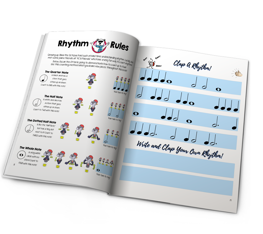 notematch children's piano book
