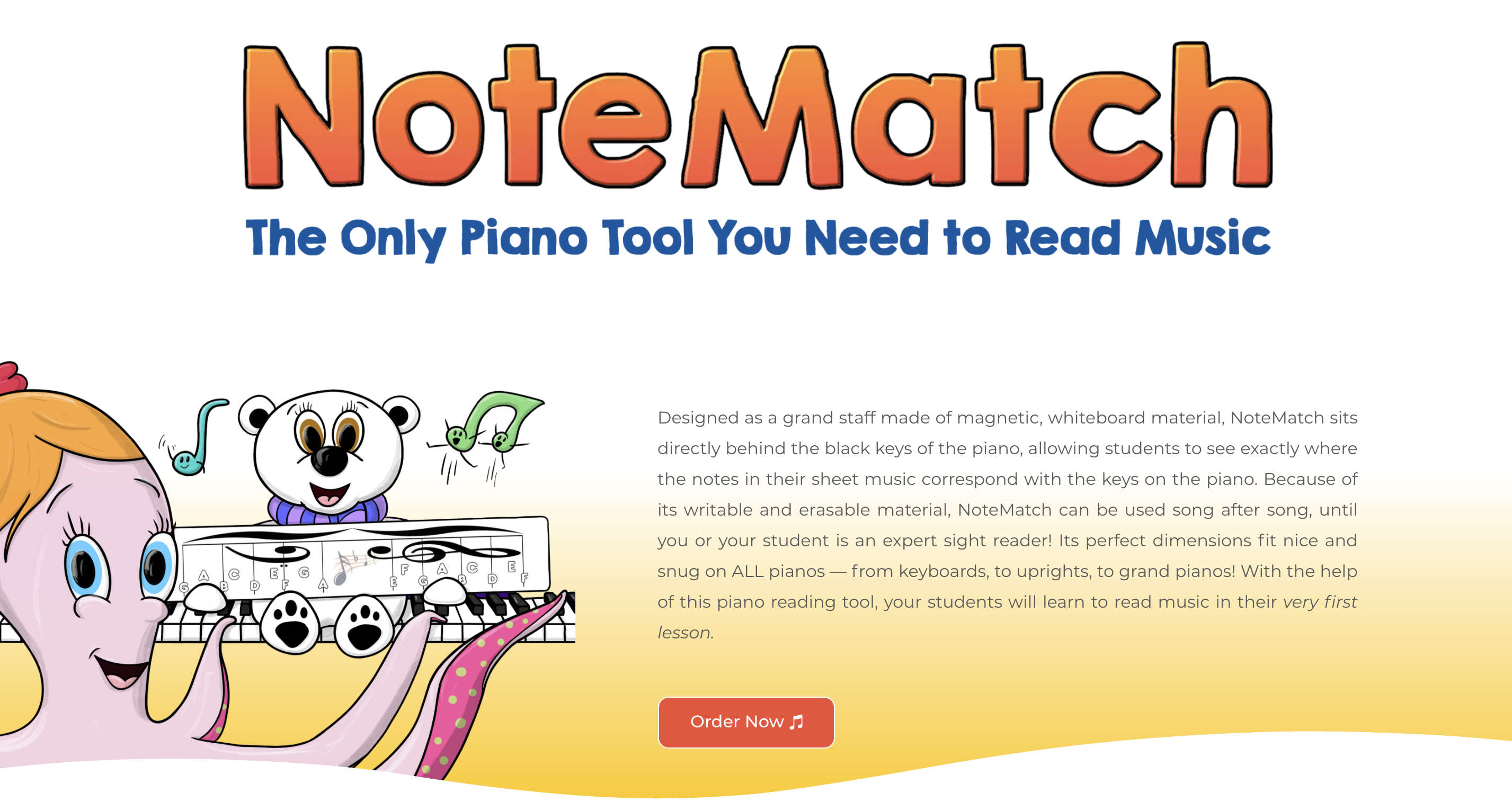 NoteMatch Piano Reading Tool