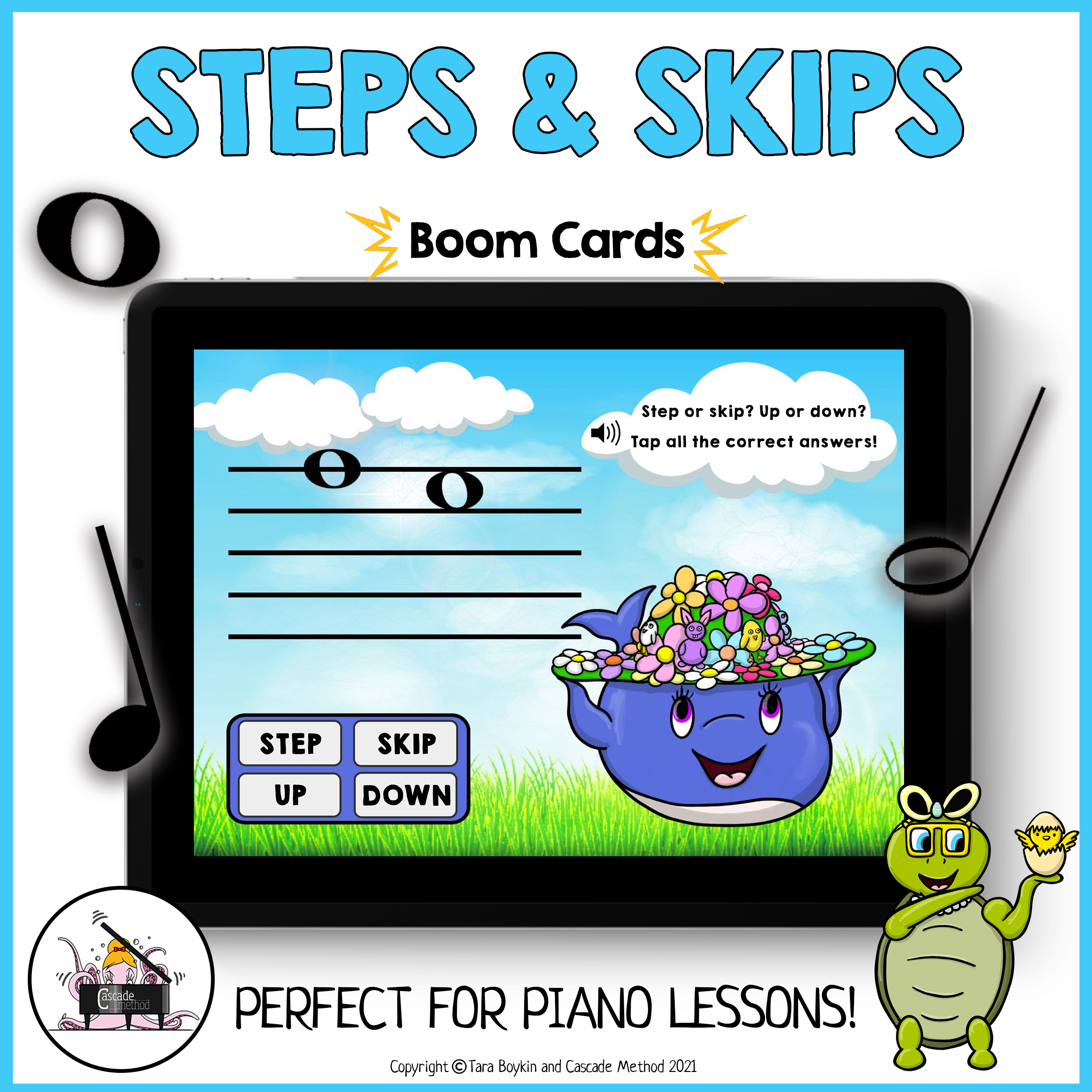 Learning Intervals with Boom Cards
