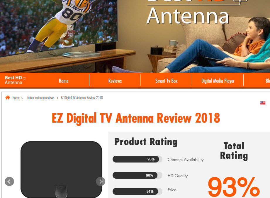 CUT THE CABLE –Never pay another TV bill again with EZ Digital TV!