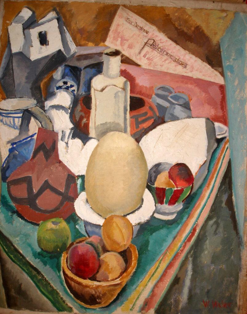 The Ostridge Egg Oil on Canvases