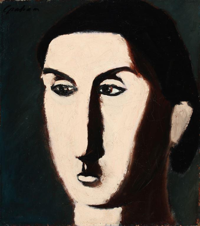 John Graham-Portrait of Weber
