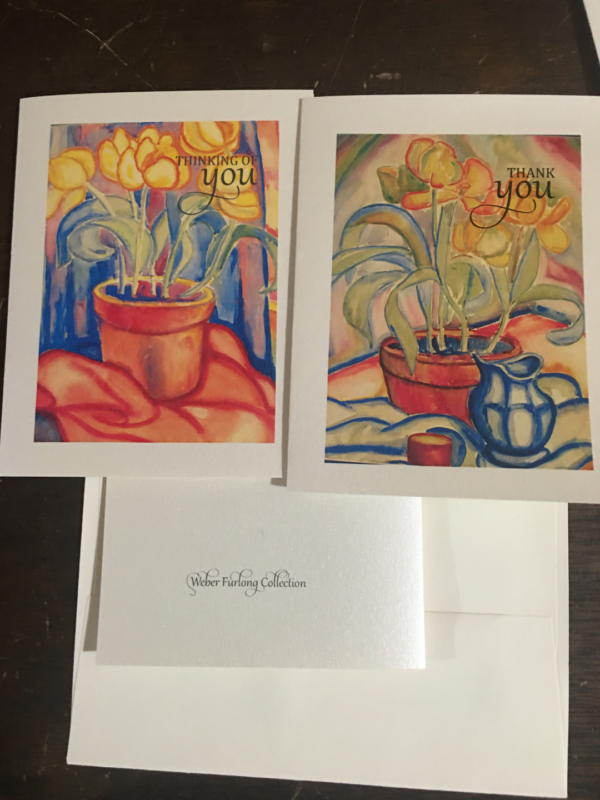 2 Note Cards/Envelopes