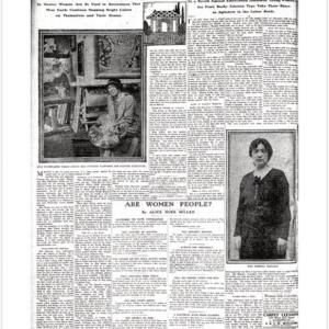 Poster New York Tribune 1914