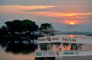 Pie Eyed Parrot Sunset Cruise