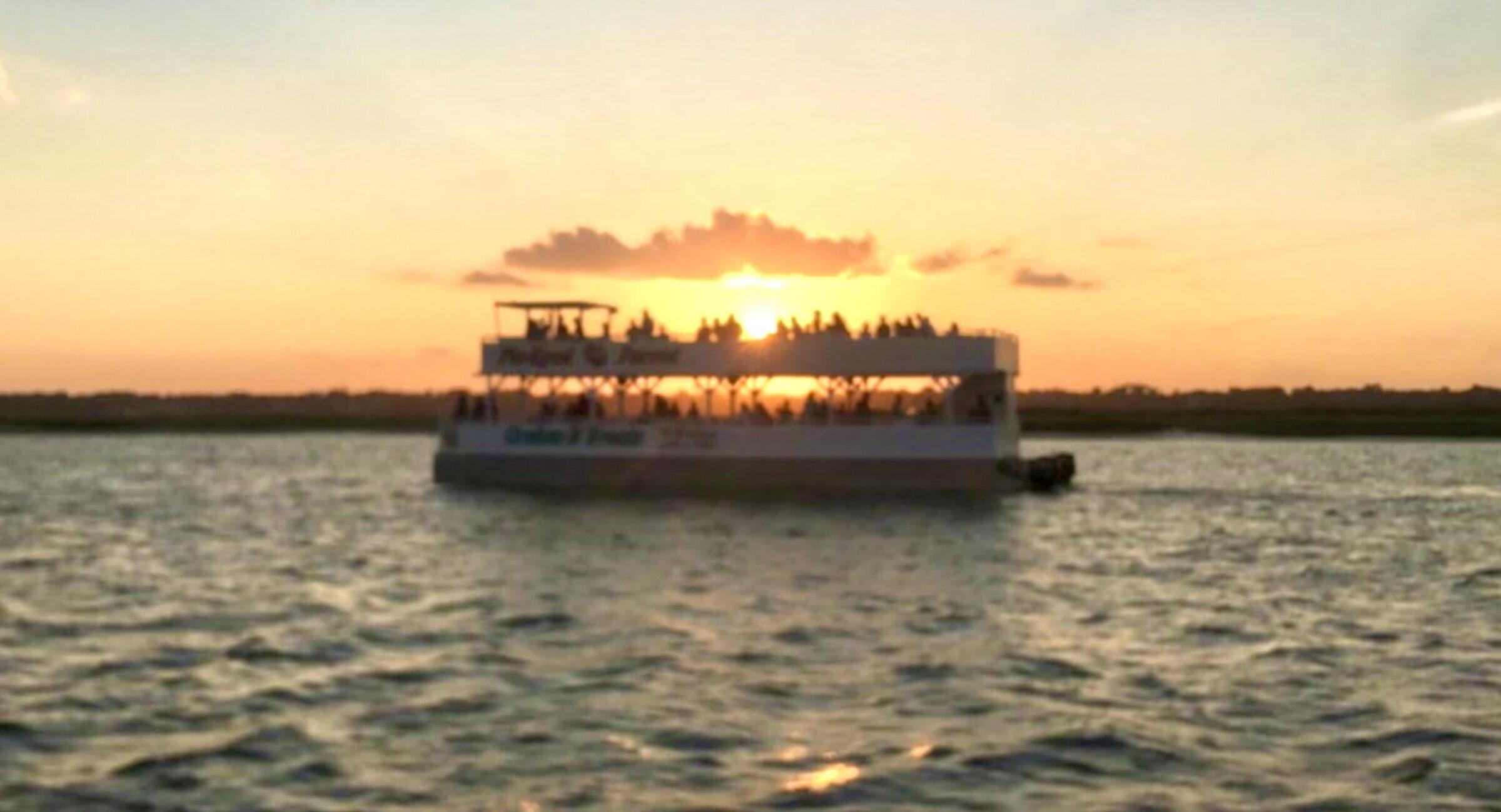 Murrells Inlet Happy Hour Cruise | Myrtle Beach Sunset Booze Cruise