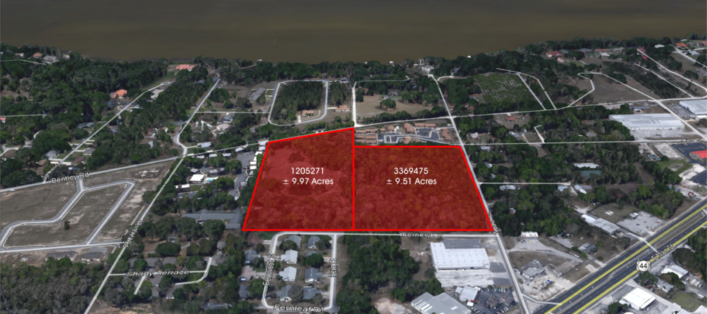 Image of the Leesburg Land, that McGill, Scott sold.