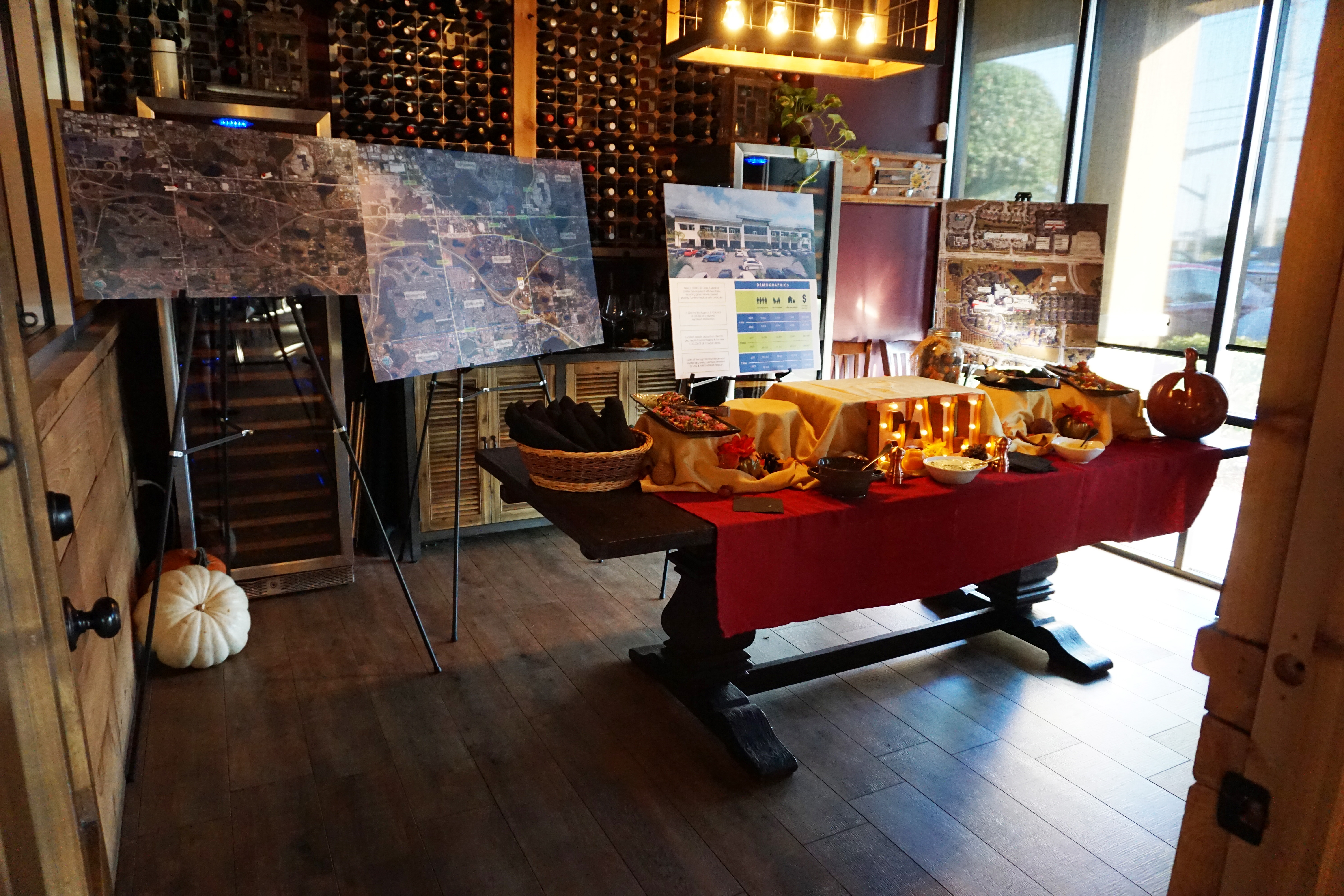 Image from the broker event that FCPG hosted to launch the Darren Medical Center.