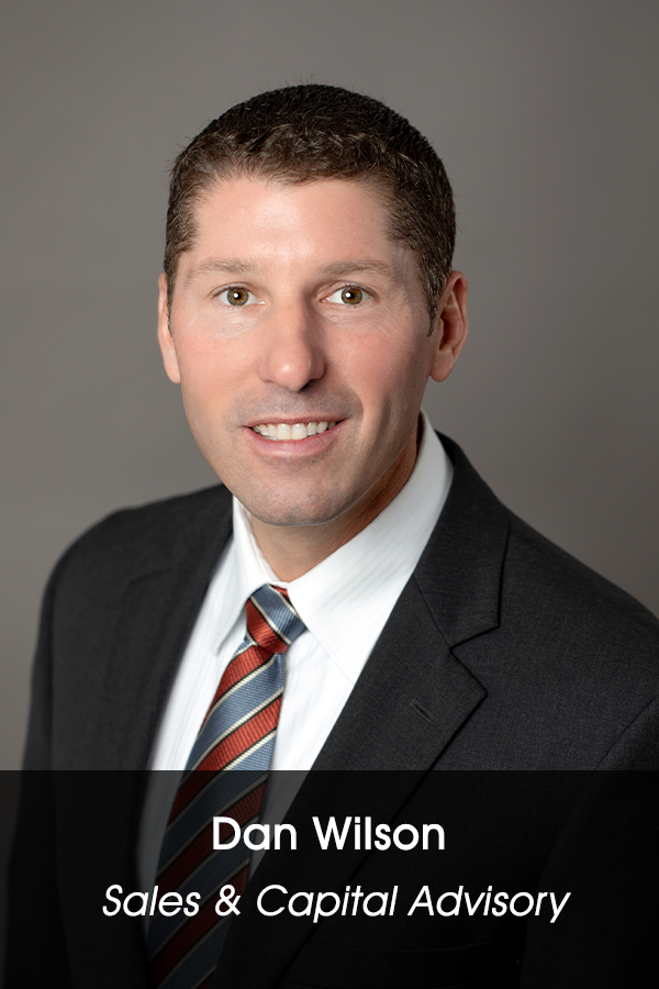 Dan Wilson - Sales & Capital Advisory