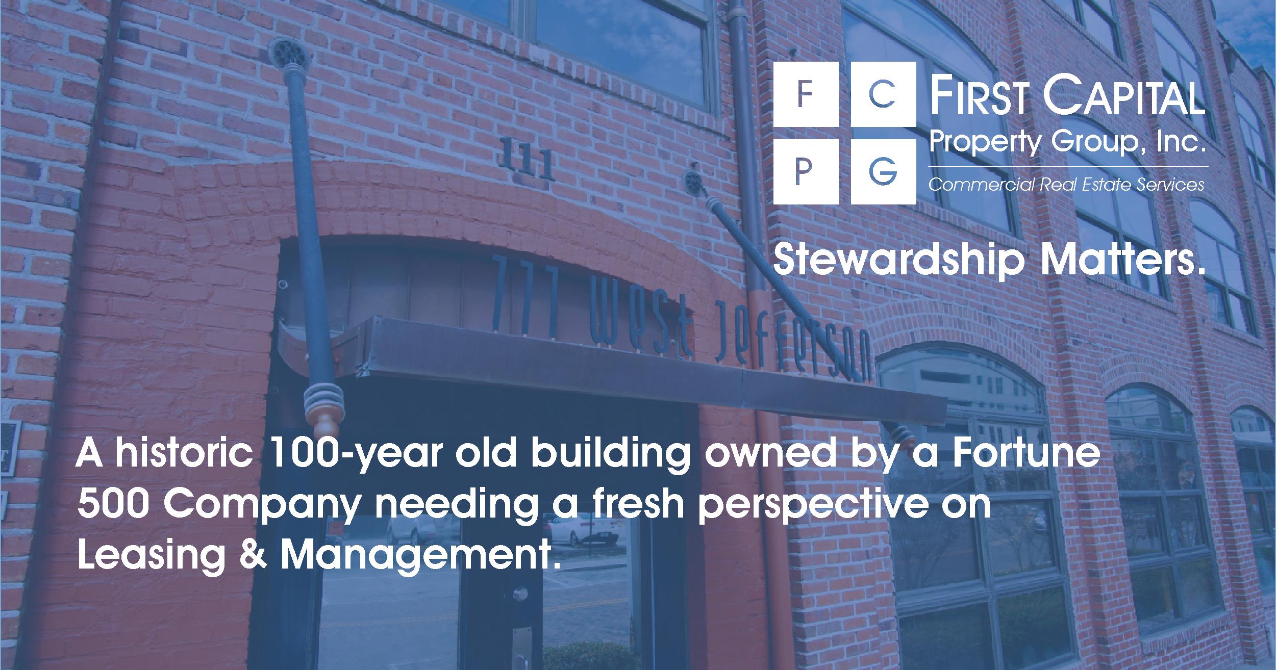 Stories of Stewardship: 111 W Jefferson