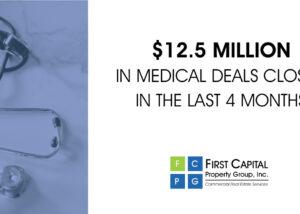 12.5 Million in medical deals