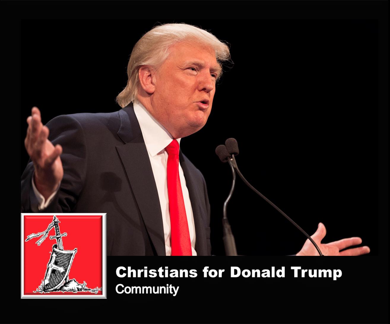 Christians for Donald Trump
