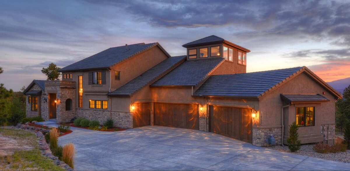 house with a view in Colorado Springs