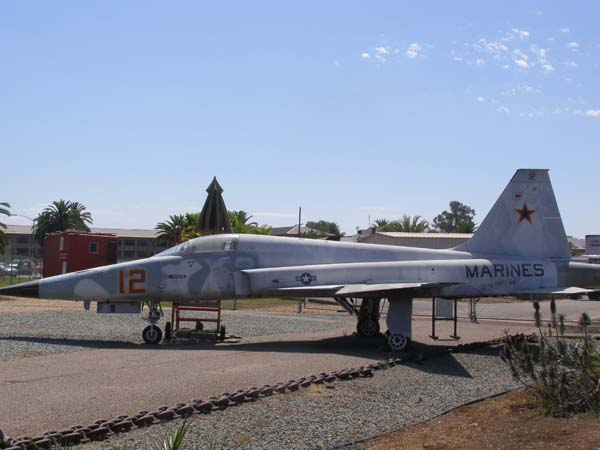 Northrop F-5E Tiger Adversary at Flying Leatherneck Museum