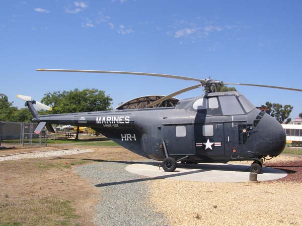 Sikorsky HRS-3 (H-19) Chickasaw Helicopter Flying Leatherneck Aviation Museum