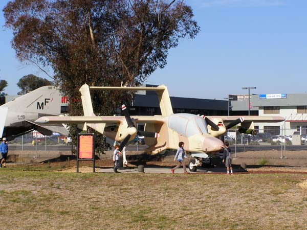 North American-Rockwell OV-10D Bronco Flying Leatherneck Aviation Museum