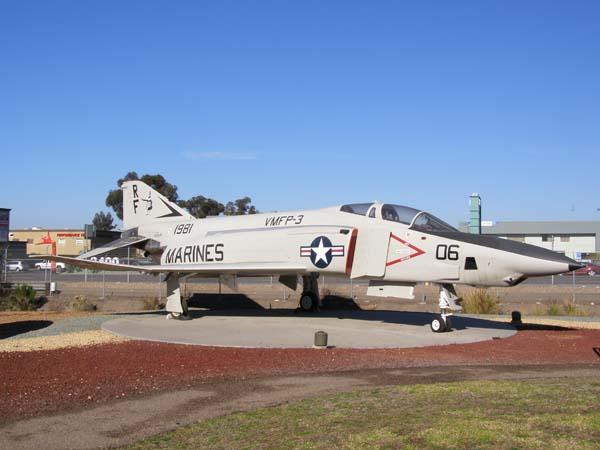 McDonnell Douglas RF-4B Phantom II Flying Leatherneck Aviation Museum San Diego
