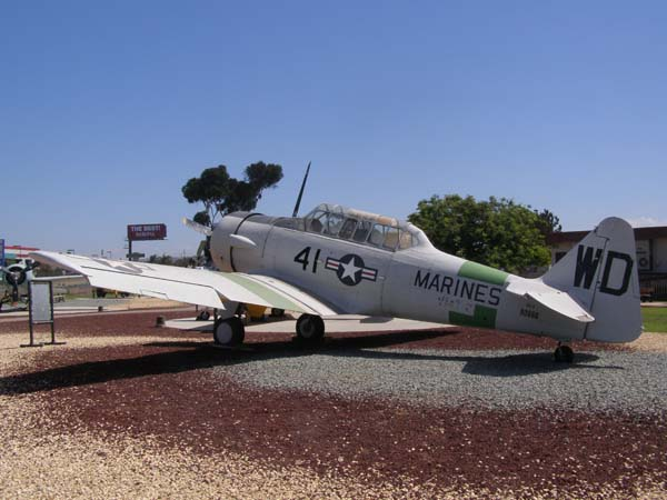 North American SNJ-5 Texan Flying Leatherneck Aviation Museum