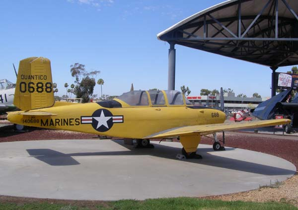 Beech T-34B Mentor Flying Leatherneck Aviation Museum