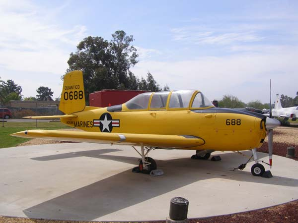 Beech T-34B Mentor Flying Leatherneck Aviation Museum San Diego