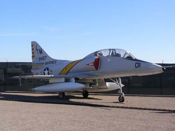 Douglas TA-4J Skyhawk Flying Leatherneck Aviation Museum