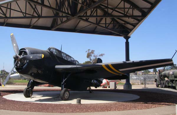General Motors TBM-3E Avenger Flying Leatherneck Aviation Museum San Diego