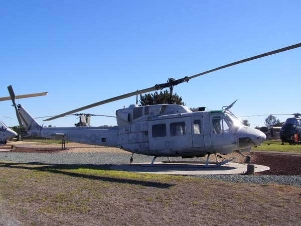 Bell UH-1N (HUEY) Iroquois Helicopter at Flying Leatherneck Aviation Museum