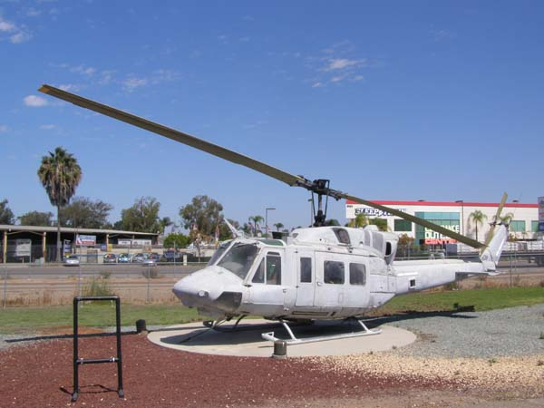 Bell UH-1N (HUEY) Iroquois Helicopter Flying Leatherneck Aviation Museum