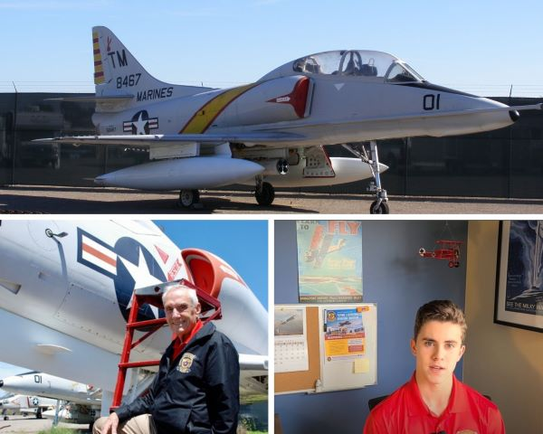 """The Inside Loop: Flying the A4 """"Skyhawk"""" with MajGen Bob Butcher, Episode 4"""