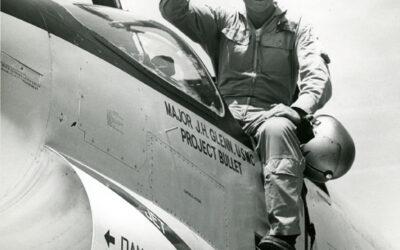 "John Glenn's ""Project Bullet"" F8U Crusader"