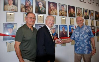 Wall of Honor Ribbon Cutting Ceremony